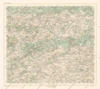 Generalkarte von Zentraleuropa