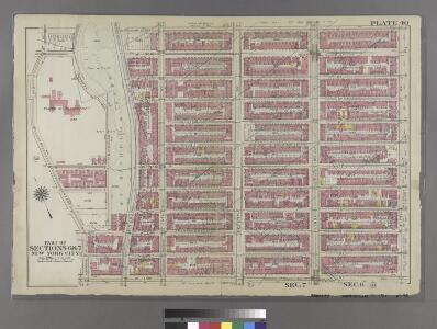 [Plate 40: Bounded by W. 136th Street, Fifth Avenue, W. 125th Street, and Morningside Avenue.]