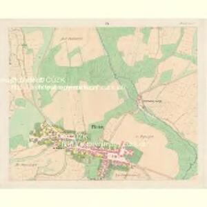 Planitz (Planice) - c5807-1-004 - Kaiserpflichtexemplar der Landkarten des stabilen Katasters