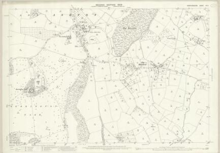 Herefordshire XII.4 (includes: Eye Moreton And Ashton; Kimbolton With Hammish; Middleton On The Hill) - 25 Inch Map
