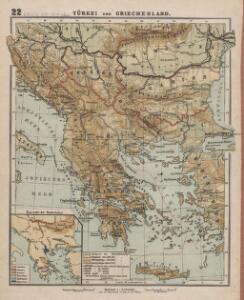 Türkei und Griechenland.