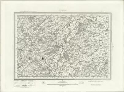 Welshpool (Outline) - OS One-Inch Revised New Series