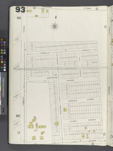 Brooklyn Vol. A Plate No. 93 [Map bounded by Forrest St., Woodbine St., Elm Ave.]