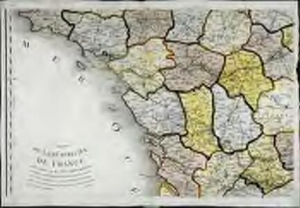 Carte de la république de France, no. 3