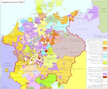 Deutschland um 1500