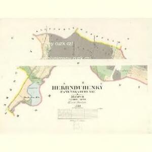 Herrndubenky (Panenskadubenky) - m2226-1-003 - Kaiserpflichtexemplar der Landkarten des stabilen Katasters