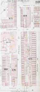 Insurance Plan of London West North-West District Vol. B: sheet 21-2