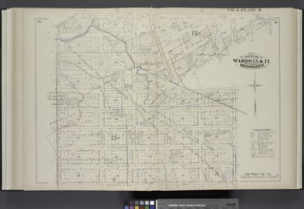 Vol. 6. Plate, H. [Map bound by Van Cott Ave., Van Pelt Ave., Monitor St., Meeker Ave., Richardson St., Humboldt St., Conselyea St., Union Ave.; Including Jane St., Newton St., Bayard St., Frost St., Withers St., Jackson St., Skillman St., Lorimer St., L