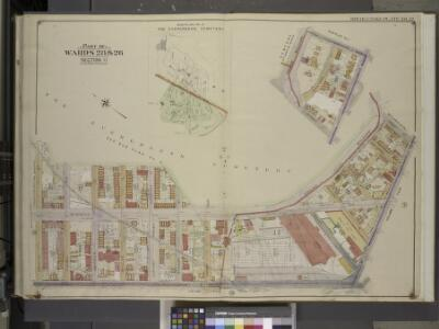 Brooklyn, Vol. 3, Double Page Plate No. 32; Part of   Wards 28 & 26, Section 11; [Map bounded by Highland Blvd., Vermont St.;          Including Jamaica Ave. (Norman Pl.), Broadway, Granite St.]; Sub Plan No. 1;     [Map bounded by Highland Blvd., Mil