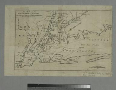 Map of the progress of His Majesty's armies in New York during the late campaign : illustrating the accounts publish'd in the London Gazette.