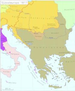 Südosteuropa 1817