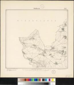Meßtischblatt 2837 : Waldfeucht, 1895