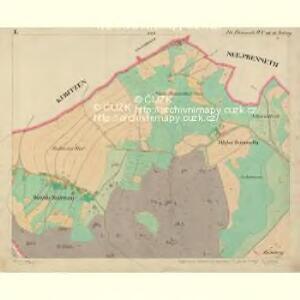 Alt Preneth - c7314-2-001 - Kaiserpflichtexemplar der Landkarten des stabilen Katasters