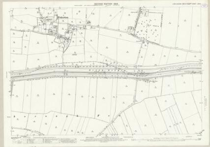Lincolnshire LXXI.6 (includes: Cherry Willingham; Fiskerton; Heighington; Washingborough) - 25 Inch Map