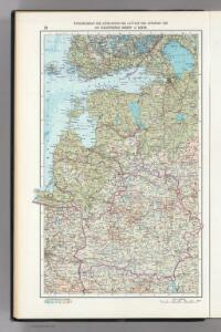 18.  Soviet Republics in North-Central  The World Atlas. Europe.