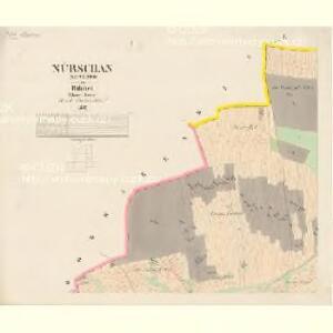 Nürschan (Newřowo) - c5338-1-001 - Kaiserpflichtexemplar der Landkarten des stabilen Katasters
