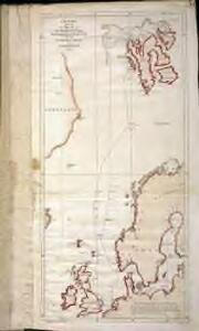 Chart shewing the track of His Majesty's sloops Racehorse and Carcass during the expedition towards the north pole 1773