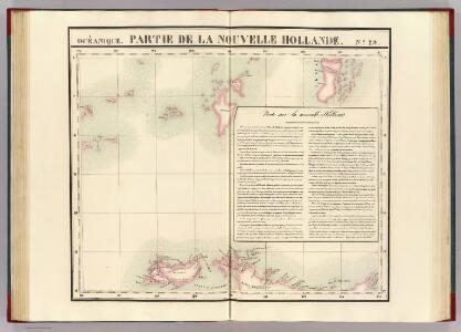 Partie, Nouvelle Hollande. Oceanique no. 29.