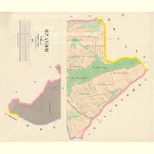 Rzakom - c6675-1-003 - Kaiserpflichtexemplar der Landkarten des stabilen Katasters