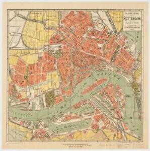 Platte grond van Rotterdam : schaal 1:10000
