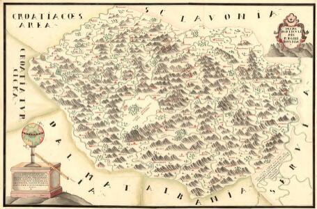 Mapa Particvlaris Regni Bosniae