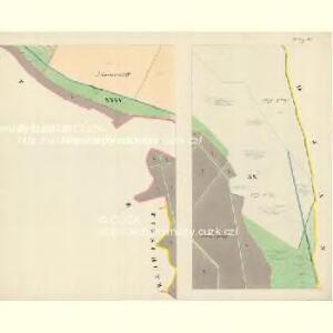 Göding (Hodonin) - m0741-1-018 - Kaiserpflichtexemplar der Landkarten des stabilen Katasters