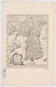 Carte de la province de Quan-tong, ou Lyau-tong et du Royaume de Kau-li, ou Corée : copiee sur la carte Angloise