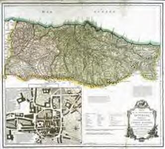 Mapa de el principado de Asturias