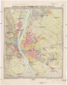 budapest térkép 1896 Budapest székes fövaros és környékének térképe budapest térkép 1896