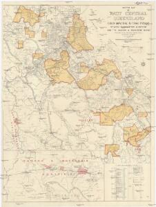 Sketch map of east central Queensland