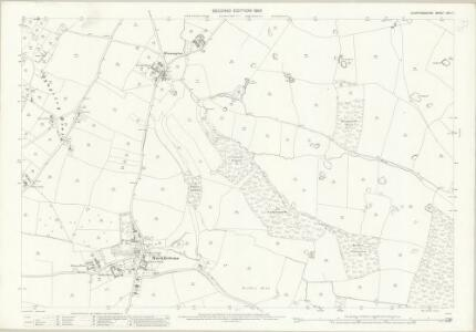Staffordshire XXII.7 (includes: Mucklestone) - 25 Inch Map