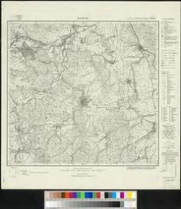 Meßtischblatt 2662 : Arolsen, 1933