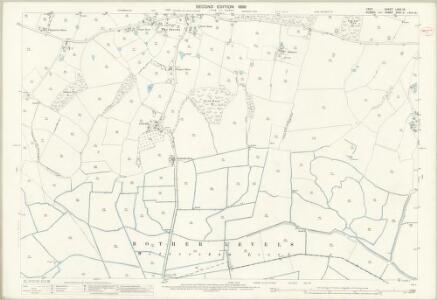 Kent LXXX.13 (includes: Iden; Stone cum Ebony; Wittersham) - 25 Inch Map