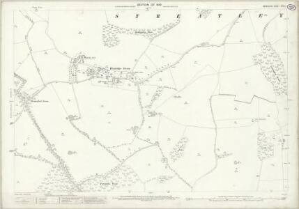 Berkshire XXVIII.1 (includes: Aldworth; Streatley) - 25 Inch Map