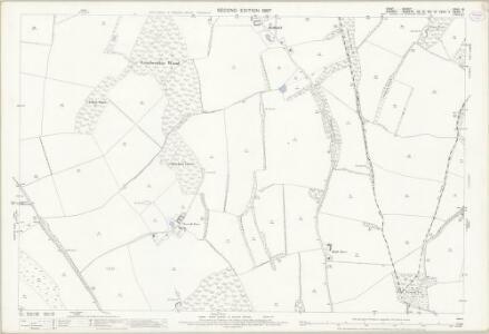 Kent XXVII.16 (includes: Chelsham; Orpington; Titsey) - 25 Inch Map