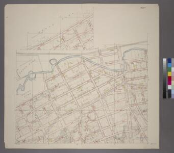 Sheet 4: Grid #9000E - 12000E, #1000N - 7000N. [Includes Gun Hill Road, Bronxwood Park, N.Y. - Harlem River R.R., Bronx Parl, Rosewood ,(Olinville), Olinville Avenue and White Plains Avenue.]