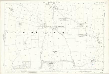 Durham XLVIII.7 (includes: Denton; Heighington; Houghton Le Side; Walworth) - 25 Inch Map