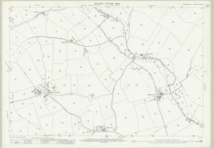 Suffolk LXIV.15 (includes: Brent Eleigh; Chelsworth; Kettlebaston; Monks Eleigh; Preston St Mary) - 25 Inch Map