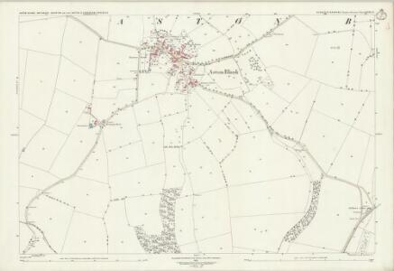Gloucestershire XXVIII.15 (includes: Aston Blank; Bourton on the Water; Notgrove; Turkdean) - 25 Inch Map