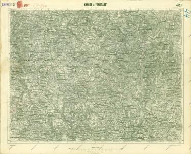 III. vojenské mapování 4553