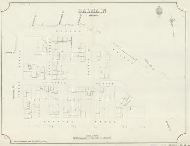 Balmain, Sheet 69, 1890
