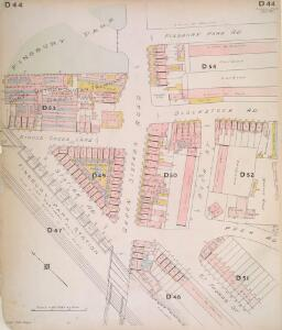 Insurance Plan of London North North West District Vol. D: sheet 44