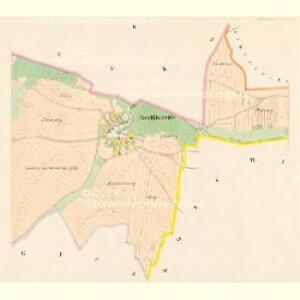 Sedlikowitz - c6799-1-002 - Kaiserpflichtexemplar der Landkarten des stabilen Katasters