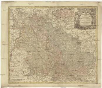 Mappa geographica, continens archiepiscopatum et electoratum Coloniensem