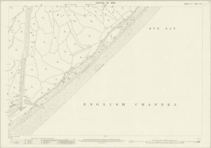 Sussex LIX.6 (includes: Pett) - 25 Inch Map