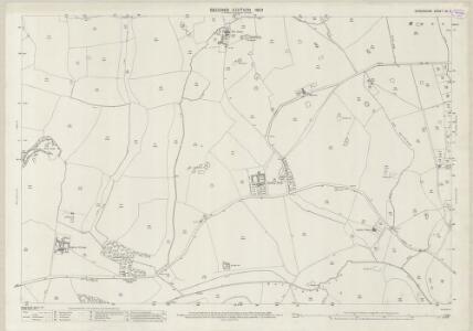 Shropshire XV.3 (includes: Ightfield; Moreton Say; Prees) - 25 Inch Map