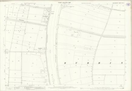 Lincolnshire XVIII.9 (includes: Althorpe; Belton; Burringham; West Butterwick) - 25 Inch Map