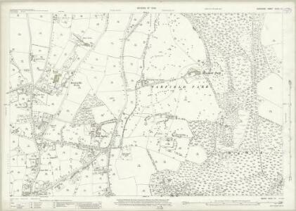 Berkshire XXXIX.10 (includes: Warfield; Winkfield) - 25 Inch Map