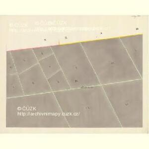 Göding (Hodonin) - m0741-1-004 - Kaiserpflichtexemplar der Landkarten des stabilen Katasters