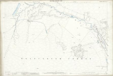 Durham XVI.13 (includes: Stanhope) - 25 Inch Map